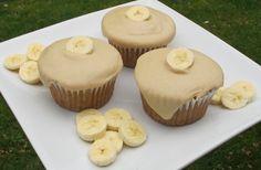 ... peanut butter cupcakes crafters recipes banana cupcakes vegan banana