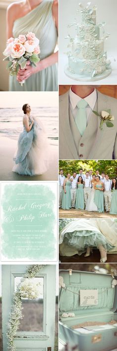 The best thing about a seafoam color scheme is that it can be used on its own, or alongside other colors and textures. Create a whimsical bohemian feel to your day and team it with wooden, rustic details and subtle beige accents, or keep it simple and chic with fresh whites and subtle greys