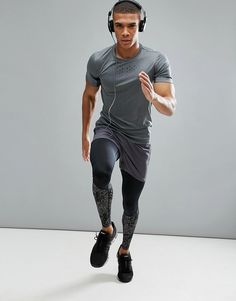 Asics Men's compression tights, Click through to Website for Sale, On Sale Now!, jogging tights, yoga tights, training leggings, yoga leggings, moisture wicking, breathable, moisture wicking, athletic wear, gym wear, men's fitness, sports wear, health wear, weight loss wear, activewear, Crossfit