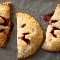 Strawberry or Apricot Hand Pies These are so tasty! I like to use vanilla sugar instead of regular sugar. Prep is really easy but you can not cut corners on refrigerating the dough, or at least I have not found a way.