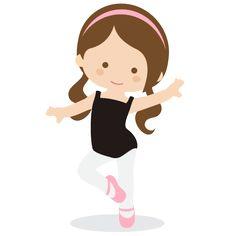 Ballerina SVG file for scrapbooking