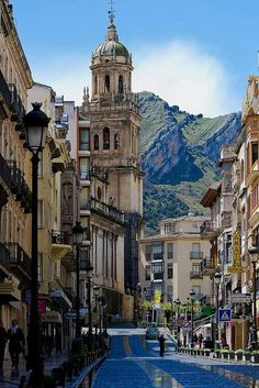 Jaén is a city in south-central Spain. The name is derived from the Arabic word jayyān. It is the capital of the province of Jaén. It is located in the autonomous community of Andalusia.