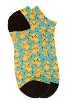 Sokken Pokemon Pikachu Silly Socks, Three's Company, Pokemon Fan, Primark, Must Haves, Pikachu, One Piece, Tank Tops, Swimwear