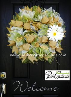 Hey, I found this really awesome Etsy listing at http://www.etsy.com/listing/156713666/summer-wreath-summer-mesh-wreath-burlap