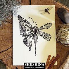 "Шешина Екатерина  Арт графика ""Бабочка - Стрекоза""  #Шешина_Екатерина  #артграфика #графика #zenart #zengraphic  #zendoodle #doodle #zentangle #абстракция  #арт #sheshina_ekaterina #lineart #art #inkart  #abstractart #blackwork #zendrawing #sketch  #abstract #draw #artwork #pen #ink #drawing #instaart #dragonfly"