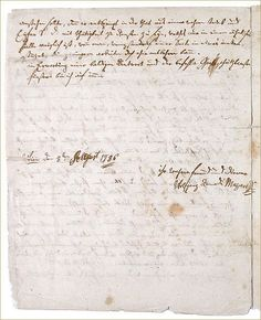 Dr. Dick's Market Square Concerts Blog: Mozart writing to his father, 8 Aug, 1786