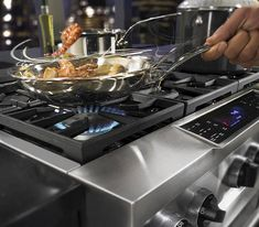 Shop KitchenAid 6-Burner Self-Cleaning Convection Single Oven Dual Fuel Range (Stainless Steel) (Common: 36-in; Actual 35.75-in) at Lowes.com