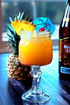Mai Tai Cocktail - otherwise known as a BFRD (Big F'ing Rum Drink) #tropicalcocktail #rumdrink