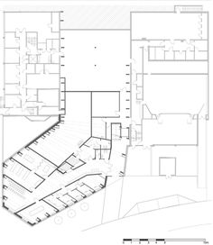 Vennesla Library and Culture House,cellar plan