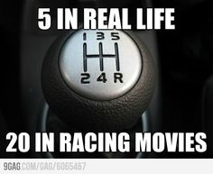 In every racing movie!