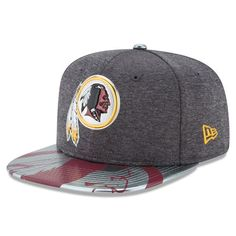 Washington Redskins New Era Youth NFL Spotlight Original Fit 9FIFTY Snapback Adjustable Hat - Graphite - $31.99