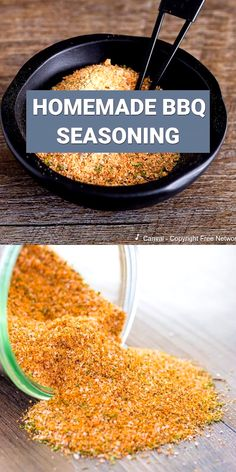 Homemade BBQ Seasoning Make your own BBQ seasoning mix homemade with spices in your pantry. This blend is great for seasoning burgers, steaks, ribs, and can be used as a bbq dry rub!