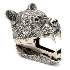 Bear Staple Remover from AHAlife. Saved to Sagacious stationary. Home Deco, Do It Yourself Inspiration, Design Inspiration, Daily Inspiration, Design Ideas, Bear Head, Take My Money, Desk Accessories, Just In Case