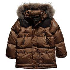 IKKS Boys Grey Pea Coat with Fleece Collar - Coats &amp Jackets - Boy