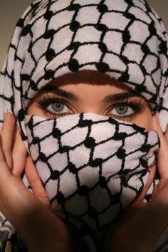 Palestinian scarf.  #palestinianpride