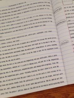 "arcane-sonder: ""More lab book pics and handwriting ;"