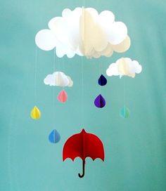 Làm mưa ngũ sắc 3D cho phòng bé nổi bật | aFamily.vn