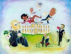 """Bush Administration"" - Zeal Harris - Visual Artist"