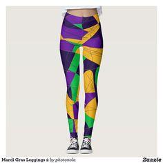 Mardi Gras Leggings 2