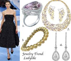 Fall 2013 jewelry trends featuring fine jewelry from The Jewel Box