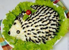 Idei minunate pentru decorarea salatei de icre. Cei mici le vor indrăgi cu sigurantă
