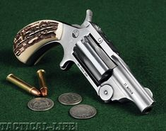 Derringer Pistol, North American Arms, Single Action Revolvers, Pocket Pistol, Leather Holster, Cool Guns, Guns And Ammo, Firearms, Hand Guns