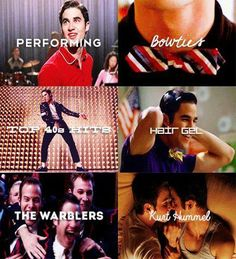 ❤ all things Blaine Anderson...