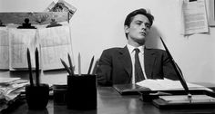 Distracted Film on Twitter:   ARTHOUSE MASTERPIECE: Alain Delon in Antonioni's L'Eclisse.