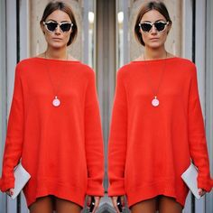 STEAL THE LOOK   Roube os melhores looks do momento! #stealthelook #look #looks #streetstyle #streetchic #moda #fashion #style #estilo #inspiration #inspired #orande #vestido #sueter