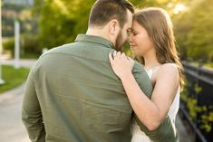 Roberto Clemente Bridge, Engagement Session, Engagement Photos, Samar, North Shore, Beautiful Lights, Sunny Days, Pittsburgh, State Parks