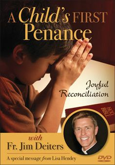 "In ""A Child's First Penance: Joyful Reconciliation,"" Fr. Jim Deiters talks to kids about sin, true repentance, and God's unconditional love and forgiveness. Parents will learn about their essential role in teaching and modeling the faith for their children. Bonus: CatholicMom.com founder Lisa Hendey discusses the outpouring of love & forgiveness she felt at her first penance. To see a video sample and download a free presenter's guide, go to http://www.liguori.org/productdetails.cfm?PC=12142"
