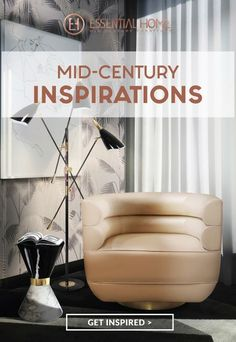 Mid-Century Home Decor Inspiration for the Fall | www.essentialhome.eu/blog | #midcentury #furniture #fall