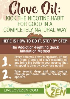 Clove Oil: Kick the Nicotine Habit for Good in a Completely Natural Way