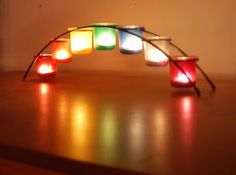 Jesus in Love Blog: Welcome the New Year with rainbow candles! Bridge of Light honors LGBT culture