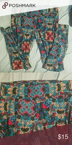 cd83f854013 Tall and Curvy lularoe leggings Tall and Curvy Lularoe leggings. Washed  once per instructions but