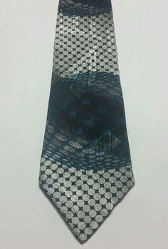 NEW  American Edition Geometric 100% Silk Multi Color Classic Mens Neck Tie #TheAmericanEdition #NeckTie