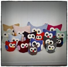 old sweater owls