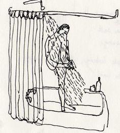 いらすとれーしょん sketchbook : PIA BRAMLEY