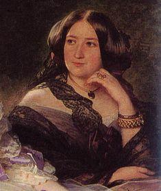 Pauline Marie Ghislaine duchesse de Bassano, née van der Linden d'Hooghvorst, (vers 1814+ 9.12.1867), fut dame d'honneur de l'impératrice Eugénie de Montijo de 1853-67.Elle est morte en Belgique au château de Meise. Fille du Emmanuel van der Linden d'Hoogvorst, elle épousa en (1843) le Napoléon Maret.