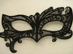 Lace Mask by StargazersEmbroidery on Etsy, $18.00