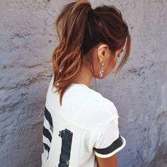 Simple ponytail <3