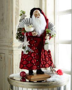 Lynn Haney Winter Festivities Santa - Horchow