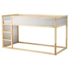 IKEA - KURA, Lit réversible, , Il suffit de retourner le lit pour le transformer rapidement en lit haut.