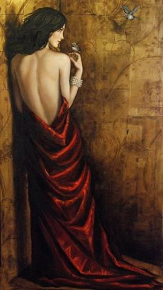 Art by Lauri Blank - women paintings (11),  Go To www.likegossip.com to get more Gossip News!