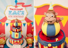 Curious George Fantastic Cakes for Kdis