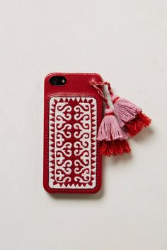 Embroidered iPhone 5 Case