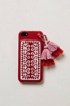 Embroidered iPhone 5 Case - anthropologie.com #anthrofave #juvenilehalldesign