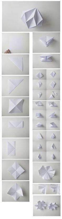DIY PAPER DIAMONDS