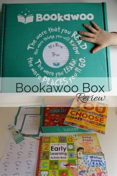 Bookawoo Box - an age appropriate box of wonderful books, perfect as a present for all children for Christmas, Birthday or anything else you can think of