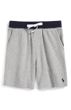 Ralph+Lauren+Stripe+Cotton+Sweat+Shorts+(Toddler+Boys+&+Little+Boys)+available+at+#Nordstrom